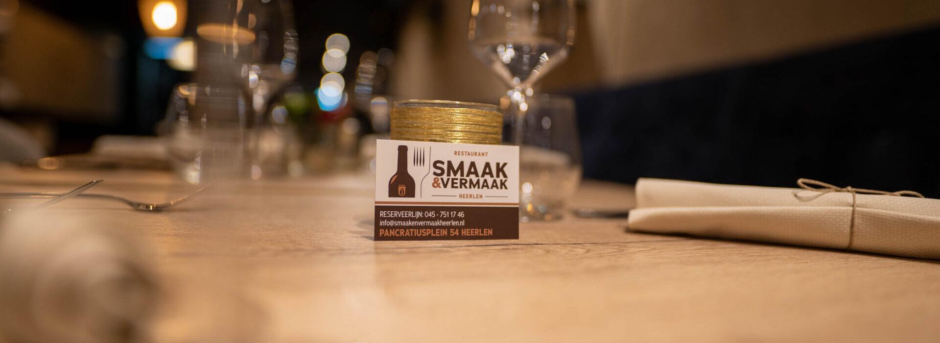 Restaurant Smaak en Vermaak Heerlen